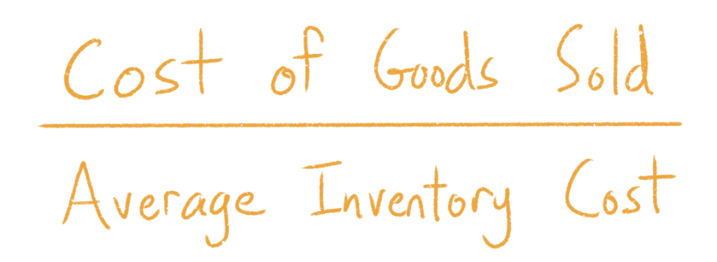 Cost of Goods Sold divided by Average Inventory Cost