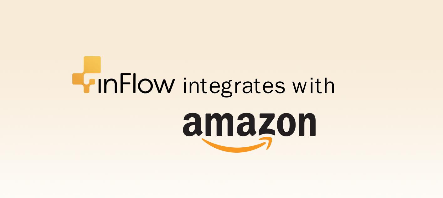 inFlow integrates with Amazon