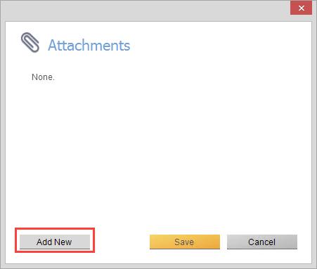 Attachment screen